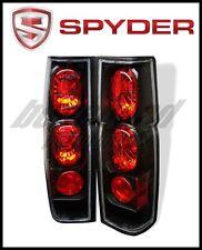 Spyder Euro Style Tail Lights Black for Nissan Hardbody 86-97