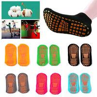 2Pcs Women Yoga Socks Non Slip Anti-Skid Grips Fitness Exercise Floor Socks