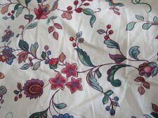 Hollander Twin Fitted Sheet Beige Floral 100% cotton