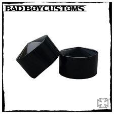 Achsen cover vorne Spitz BBC 107 schwarz Harley Davidson ,V-Rod,Muscle,Breakout