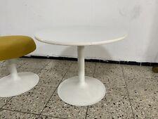 Tulip Tulpen Beistell Tisch Space Age Vintage Mid Centery 50er 60er Metall Holz