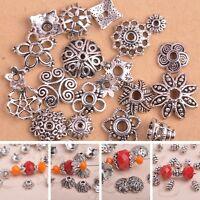 70pcs Tibetan silver sunflower spacer beads h2605
