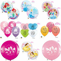DISNEY PRINCESS Qualatex Latex & Bubble Balloons (Kids Birthday/Party)