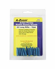 A-Zoom 22 LR Action Proving Dummy Rounds (Per 12) Free Shipping