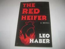 The Red Heifer: A Novel by Leo Haber             Jewish Novel