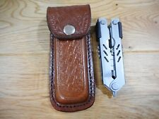 Gerber MP400 compact sport custom Brown leather sheath. Sheath only..BW