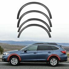 NEW 4 Piece Fender Moldings Wheel Arch For 2015-2018 Subaru Outback