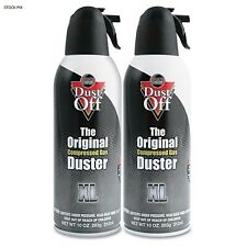 DUST OFF Electronics Duster Cans, New in Packaging, Set of 2 / 10oz