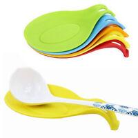 4 pcs Spoon Rests Flexible Kitchen Utensil Rest Ladle Holder for Home Restaurant