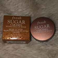 Fresh Sugar Caramel Hydrating Lip Balm .07 oz / 2 g Travel Size New With Box