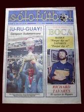 SOCCER COPA AMERICA ARGENTINA 1987 - URUGUAY CHAMPION - Magazine + Poster