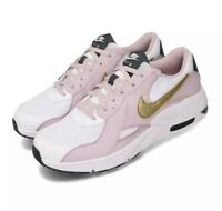Nike Air Max Excee GS White Gold Lilac Girls 4Y Youth Shoes CD6894-102
