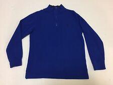 Boy's Polo by Ralph Lauren 1/4 Zip Sweater, Size L (14-16), Color Royal Blue.