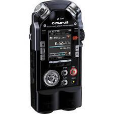 OLYMPUS LS-100 Multi-Track-Linear-PCM-Recorder Diktiergerät 4GB 2 XLR/Klinke