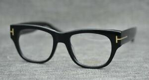 Authentic Tom Ford TF5040 B5 52/20 140 BLACK with CASE Frames Eyeglasses Glasses