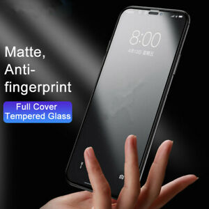 Matte Frosted Tempered Glass Screen Protector Protection Fit For Iphone 12 11 SE