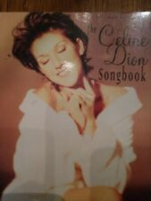 The Celine Dion Songbook (Pb) Piano Vocal Guitar Chords Pictures 1995 Vintage