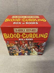 Horrible Histories Blood-Curdling Box Set of Books (Full 20 books set)