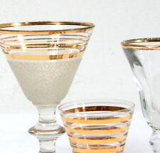 Trois verres à shots / liqueur anciens