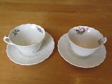 Lot or Set of 2 Spode HEATH & ROSE Spode's Jewel Copeland Cups with Saucers