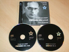 Franz Schubert - Symphonies Nos. 4, 8 & 9 - Otto Klemperer (CD) Mint/New - Rare