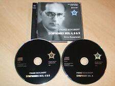 Franz Schubert - Symphonies Nos. 4, 8 & 9 - Otto Klemperer (CD) Mint/New - Rare