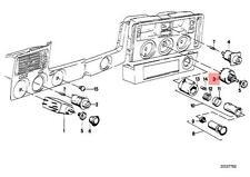 Genuine BMW E21 E28 E30 Coupe Sedan Switch for Heater Blower OEM 61311376909