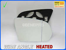 For MERCEDES W205 2014-2018 Wing Mirror Glass Wide Angle HEATED Right /E032