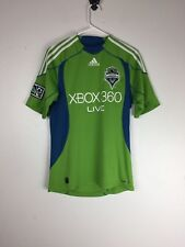 Seattle Sounders FC Mens Adidas ForMotion MLS Soccer Jersey Sz Small