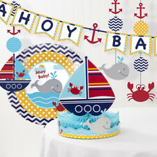 Nautical Baby Shower Party Supplies Ebay