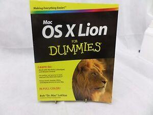 For Dummies -  Mac OS X Lion by Bob Levitus  Apple    T20