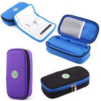 Diabetic Insulin Protector Case Travel Cooler Cool Bag Pack Injector Wallet GL