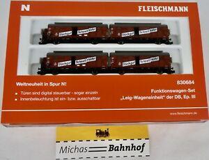 Fleischmann Function Suit Leig Wageneinheit DB Epiii 830684 N 1:160 New HQ5 Å