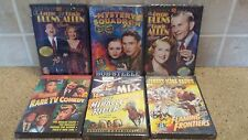 Lot of 6 Alpha Video Classic DVD's ( George Burns, Bob Steele, Tom Mix ) NIP
