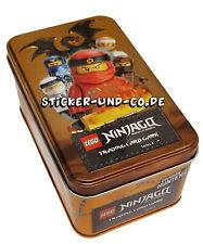 Lego® Ninjago Serie 4 Tin Dose Box 1 x Limitierte Auflage 10 Booster XL Karte