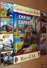 EMPIRE EXPRESS POSTER MAYFAIR RAILROADING IN AMERICA RAILS NIPPON RUSSIA BRITISH