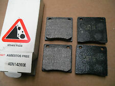 Fits Nissan Sunny 1.2 1200 B110 120Y B210 front brake pads by Asset ADN14203E