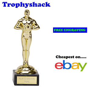 178mm Oscar,Prom,Trophy,Award Supplied by The Trophy Shack,FREE Personalisation