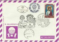 Austria 1967 900 Yr Lambach Slogan Cancel Balloon Post Stamps FDC Cover Ref28088