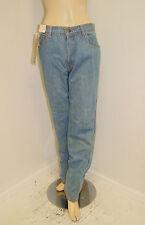 Vintage Nos 70's 80's Men's Unisex Blue Jeans Pants By Paradise - 36 W 34 I