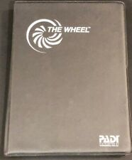 PADI The Wheel, Recreational Dive Planner & case.