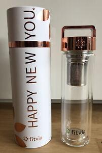 Fitvia Rose Gold Thermo Bottle *NEU*