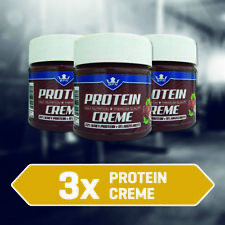 3x Protein Creme Nuss Nugat von BPN, Eiweiß Nuss Nugat Creme 3x200g