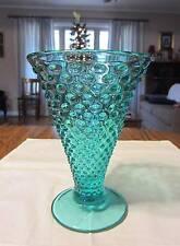 Fenton Robin's Egg Blue Hobnail Flared Vase, c. 2008