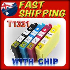 5x INK T133 133 Cartridge for Epson NX11 NX420 NX430 TX120 Workforce 525 Non-OEM