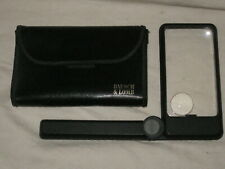 Bausch & Lomb Folding Lighted Magnifier with Case
