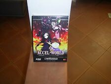 Accel World - Intégrale - Edition Gold (5 DVD + Livret) [Édition Gold]  NEUF