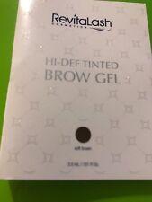 REVITALASH BROW GEL S0FT BROWN DELUXE TRIAL SIZE