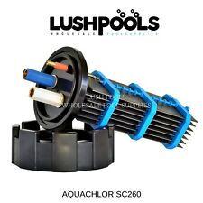 AQUACHLOR / CHLOROMATIC  SC260 Self Cleaning Chlorinator Cell -  5 YEAR Warranty