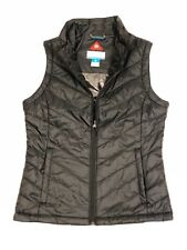 Columbia Womens Morning Light III ONMI Heat Winter Jacket Vest Black M